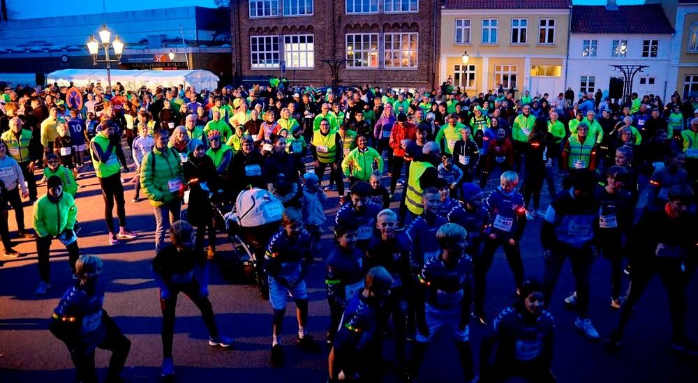 Mange hundrede deltager iWDD-løbet for både børn og voksne. Arkivfoto: Jens Nielsen
