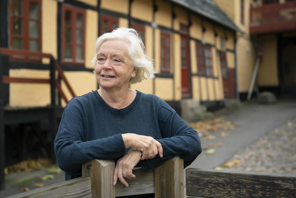 Vibeke Munk står bag mindesiden Memento Circle. Foto: Line Kongsted.