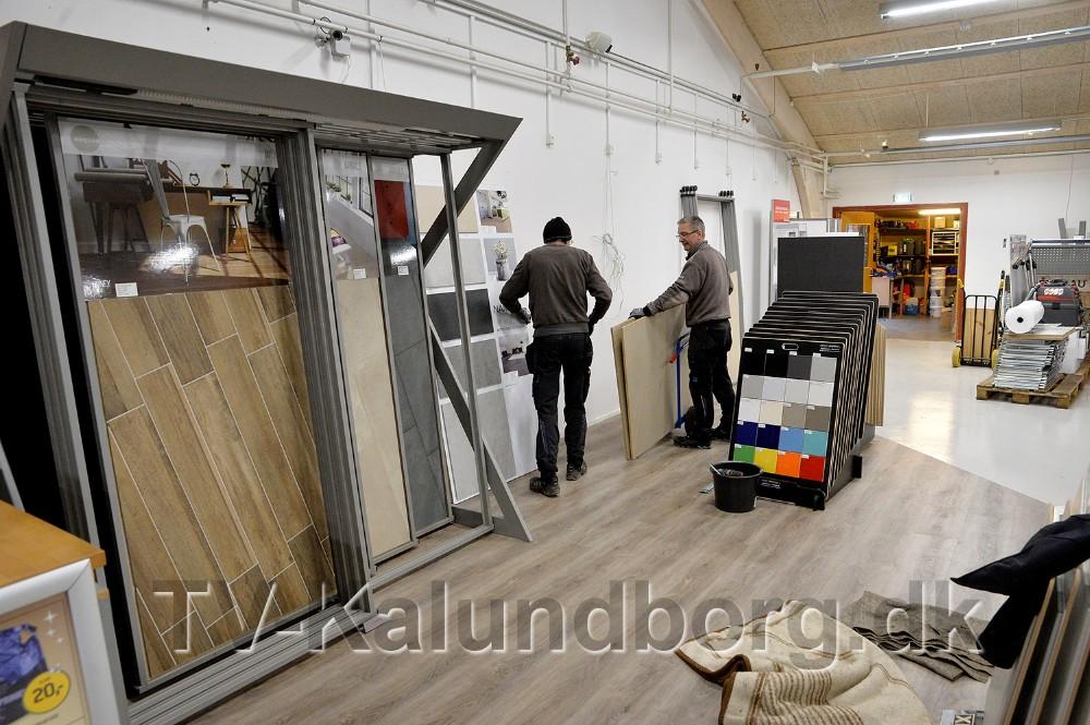 Her etableres den nye byggeudstilling. Foto: Jens Nielsen
