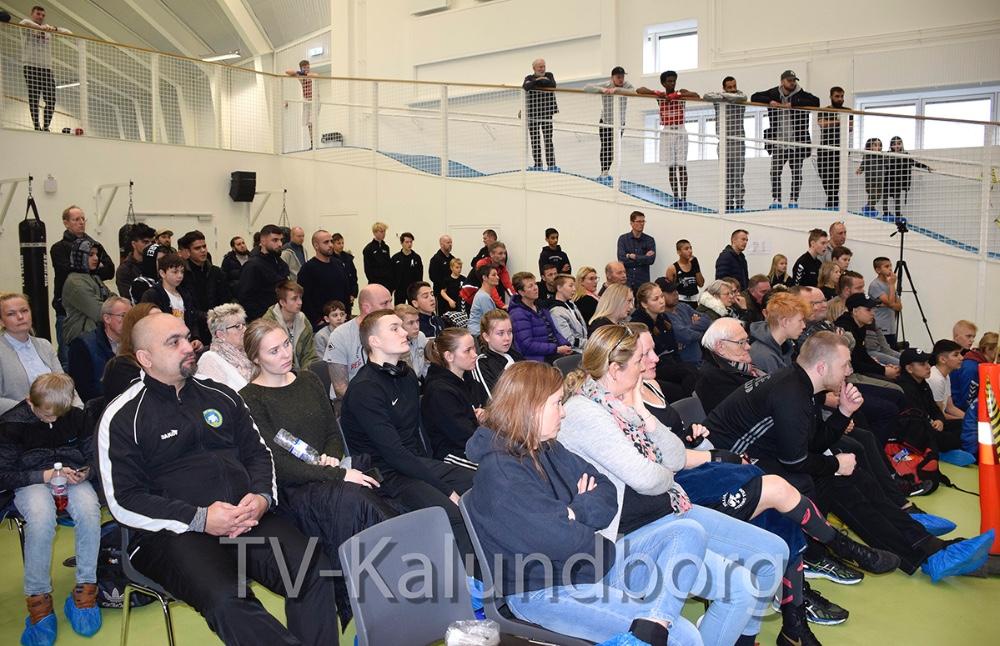Breddestævne i Spiralen i Kalundborg i dag. Foto: Gitte Korsgaard.