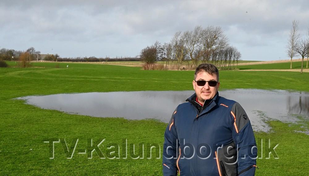 Thomas Andersen, der er daglig leder og træner i Kalundborg Golfklub. Foto: Jens Nielsen