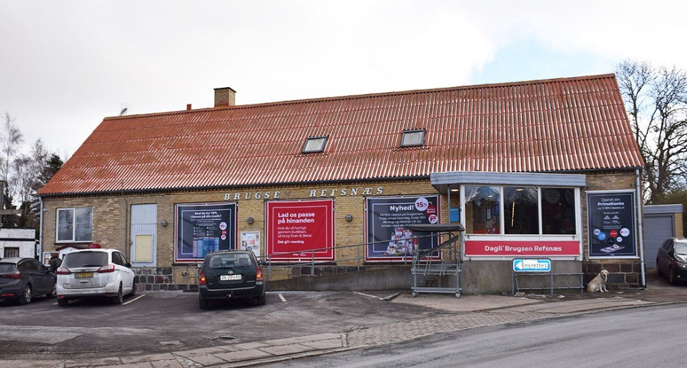 Dagli' Brugsen Refsnæs i Ulstrup på Røsnæs kan fejre 150-års fødselsdag. Foto: Gitte Korsgaard