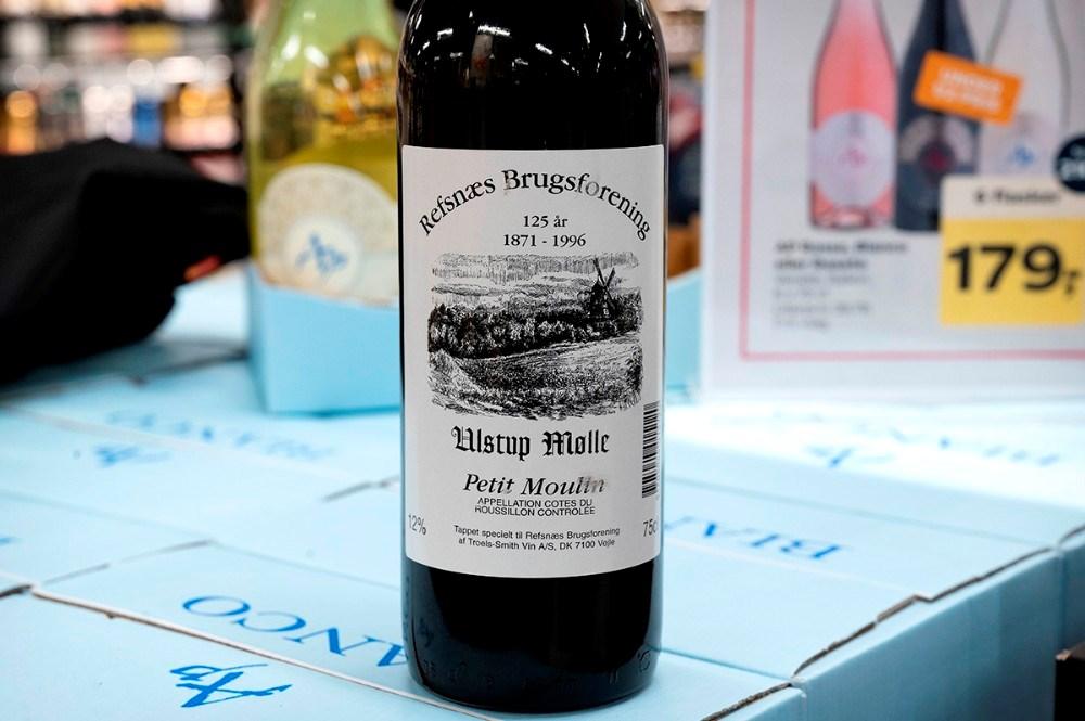 Da brugsen havde 125-års fødselsdag blev der fremstillet en vin til lejligheden. Foto: Jens Nielsen