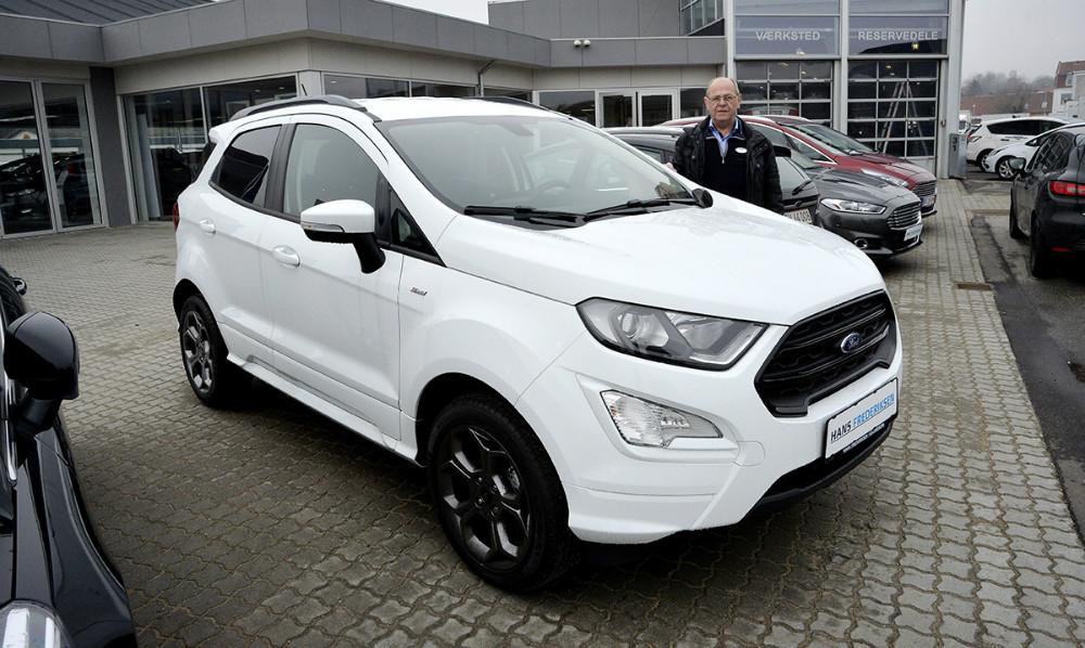 Torben Pedersen, derer Ford ansvarlig hos Hans Frederiksen A/S ved den nye Ford EcoSport. Foto: Jens Nielsen