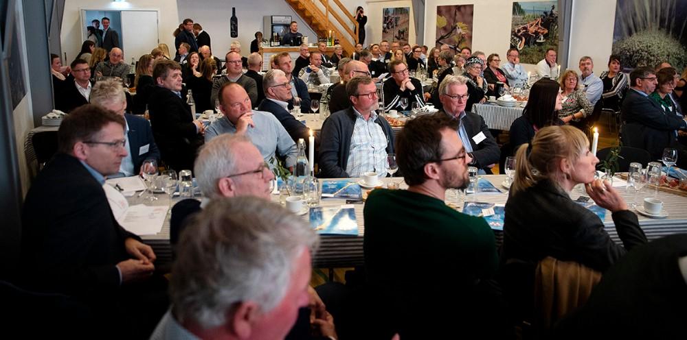 Rekord mange var mødt op til generalforsamlingen. Foto: Jens Nielsen