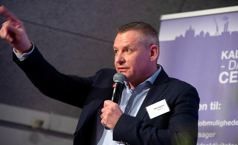Bestyrelsesformand Niels Jørgensen. Foto: Jens Nielsen