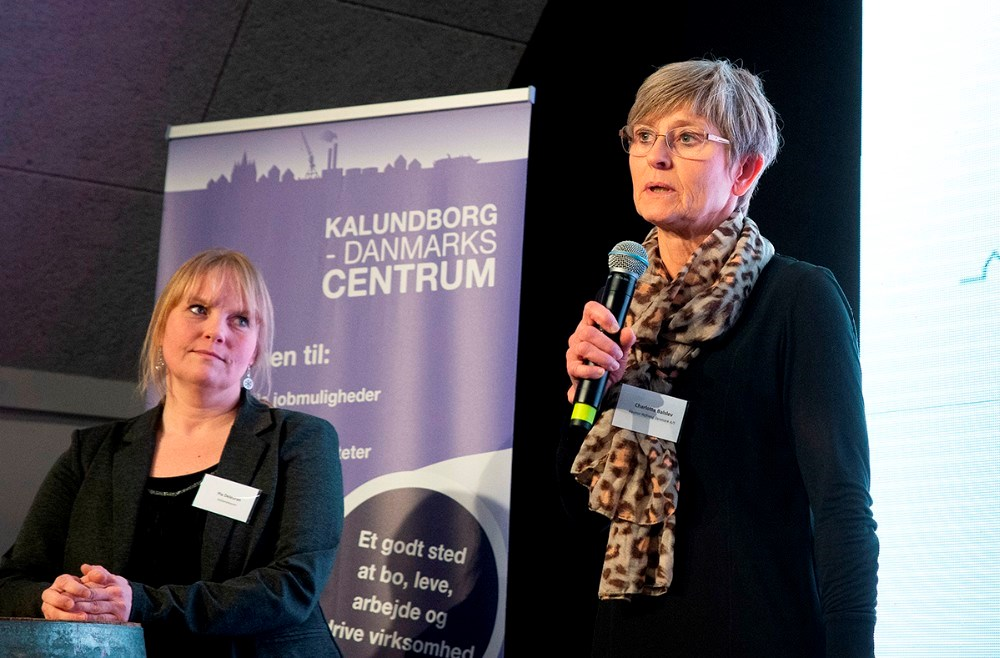 Nyvalgt til bestyrelsen, Charlotte Balslev. Foto: Jens Nielsen
