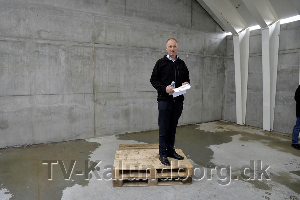 Borgmester Martin Damm talte ved rejsegildet. Foto Jens Nielsen