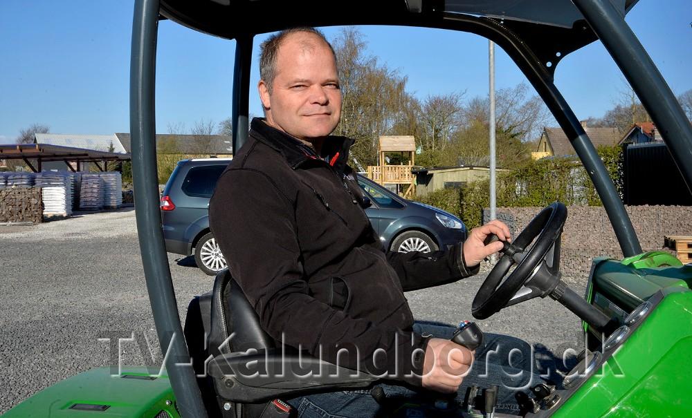 Johnny Johansson, indehaver af JMS Granit i Gørlev. Foto: Jens Nielsen
