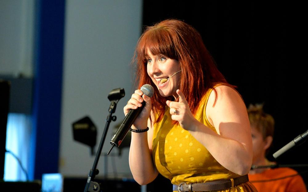 Katrine Bille er på scenen i Den 8. Himmel til sommer. Arkivfoto: Jens Nielsen