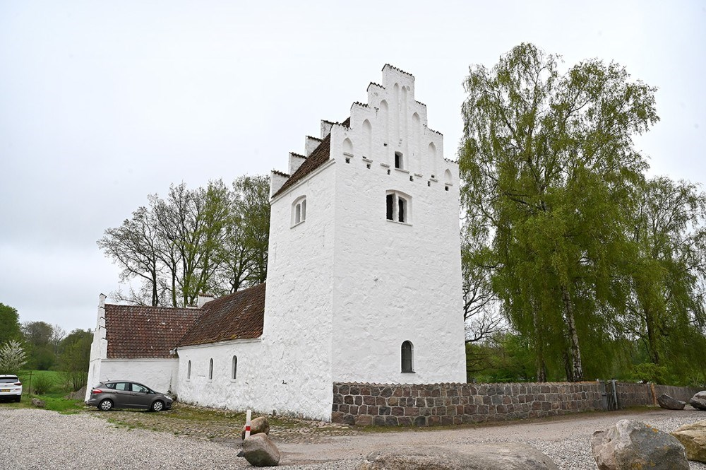 Aunsø gamle Kirke. Foto: Jens Nielsen