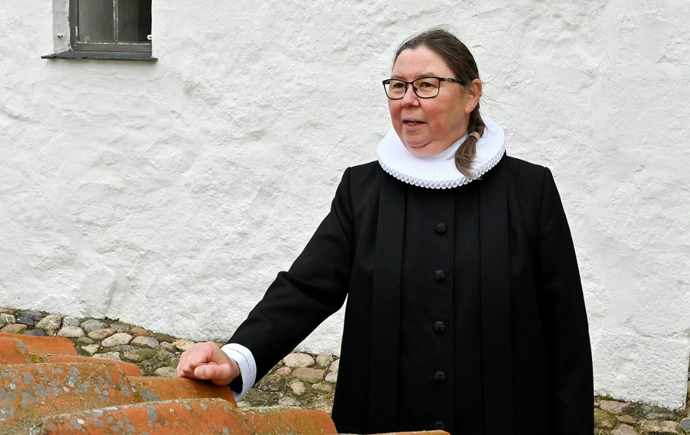sognepræst Sanne B. Kristensen. Foto: Jens Nielsen