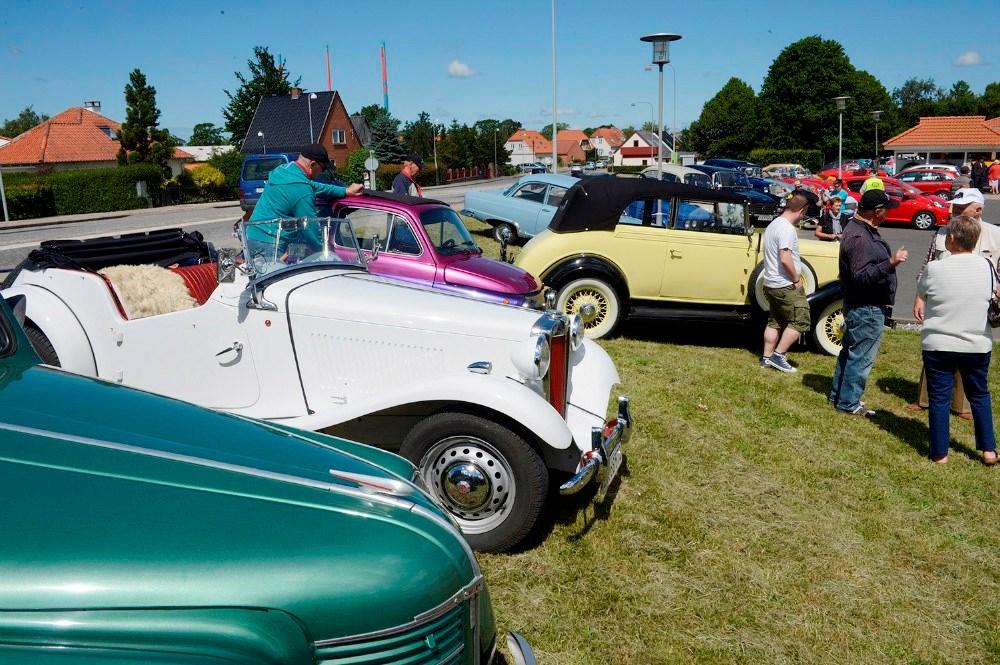 Sjællands Motorveteraner udstiller ved Høng Centret nu på lørdag. Arkivfoto: Jens Nielsen