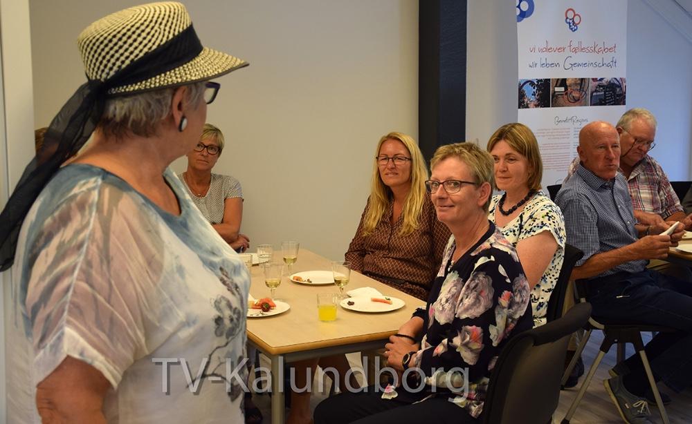 Ditte Schwarzbach holdte tale for Laila Bregner Carlsen. Foto: Gitte Korsgaard.