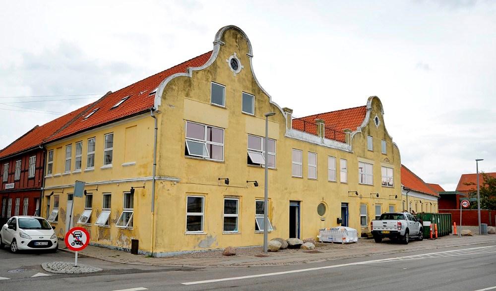Nu kommer der nyt liv i den ikoniske ejendom. Foto: Jens Nielsen