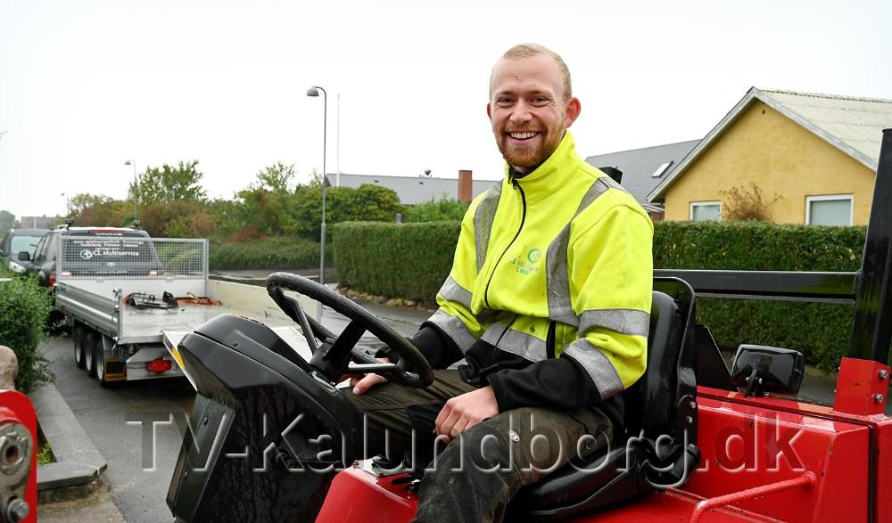 Christian Lundfald startede CL Multiservice for to år siden. Foto: Jens Nielsen