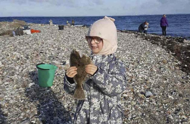 Reersø byder ofte på et rigtig fint fiskeri efter fladfisk – direkte fra kysten. Foto: Fishing Zealand