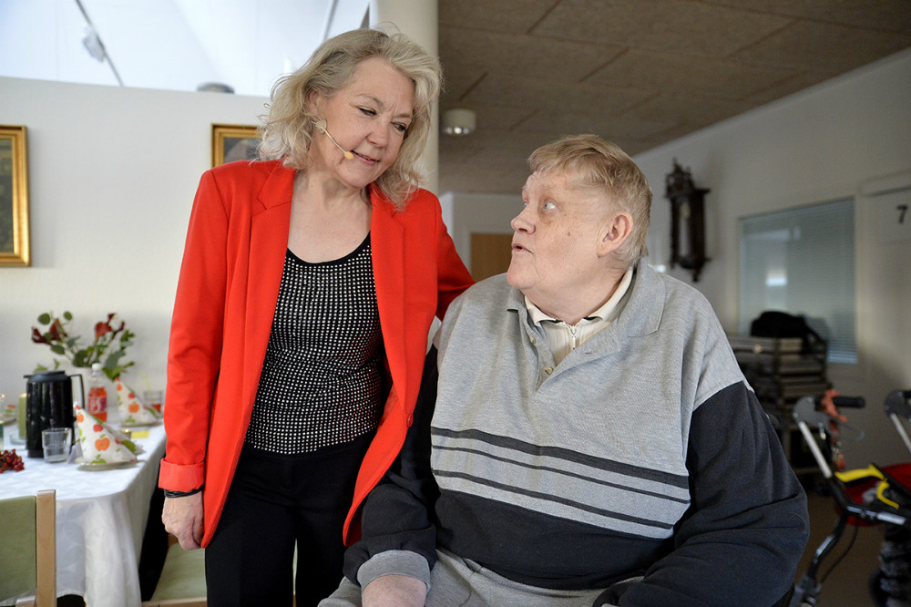 Jørgen Beck, her sammen med Karin Strand-Holm. Foto: Jens Nielsen