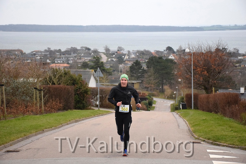 Bøgebakken er hård, men første mand har næsten nået toppen. Foto: Gitte Korsgaard