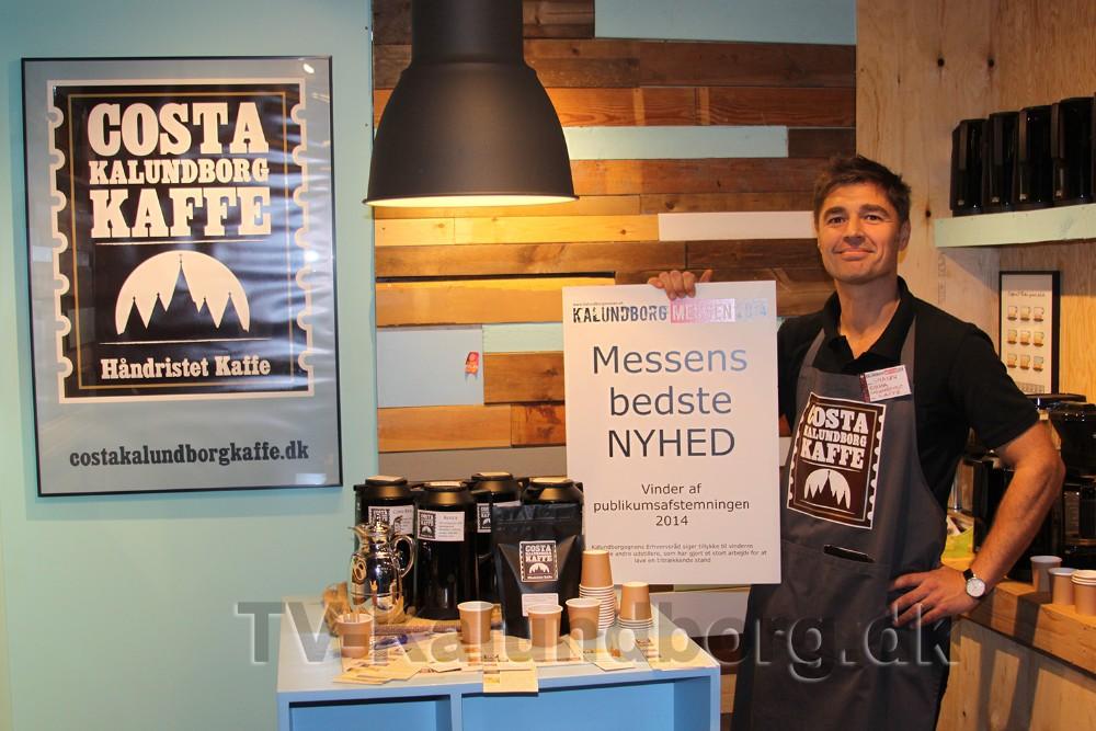 Shaun Gamble åbner café i havneparken til juni. Arkivfoto: Gitte Korsgaard