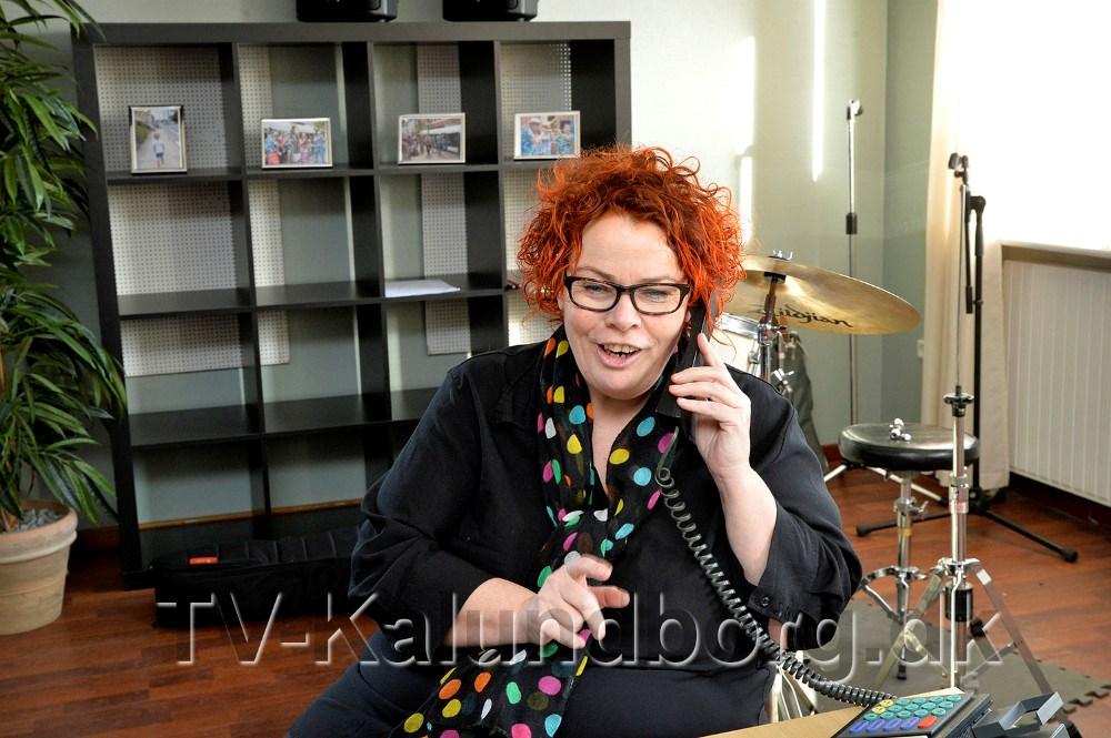 Annette Pedersen spiller den gamle dame. Foto Jens Nielsen