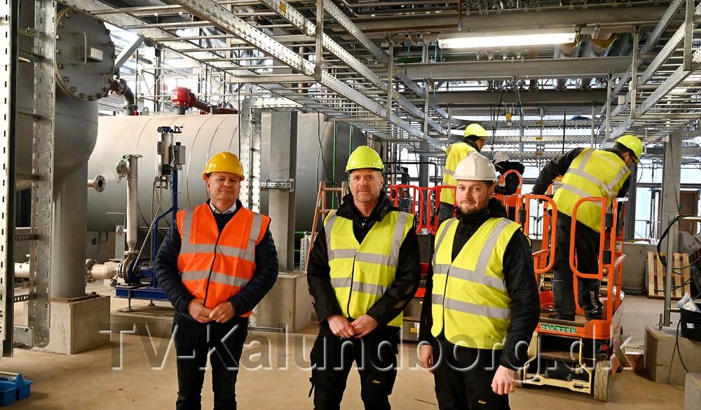 Fra venstre, Niels Jørgensen, Arne Laursen og Thomas Hansen. Foto: Jens Nielsen