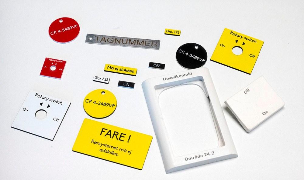 Eksempler på opgaver udført hos LabCut og Sweet Memory. Foto: Jens Nielsen