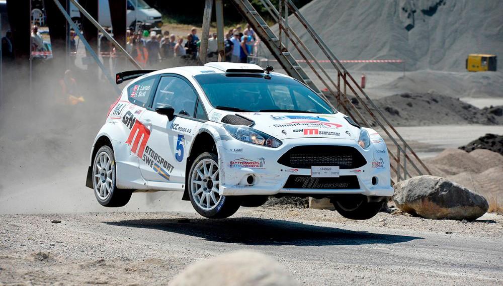 I år deltagerJoachim Grahn i enFord Fiesta WRC, og er blandt favoritterne til at vinde. Arkivfoto: Jens Nielsen