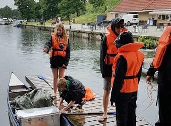 Troppen fra DDS Esbern Snare måtte, som så mange andre, ændre planerne for sommerlejren 2020. Det blev til en kanotur på Gudenåen i uge 28.