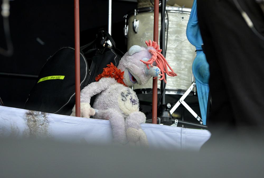 Harry med på scenen. Foto: Jens NIelsen