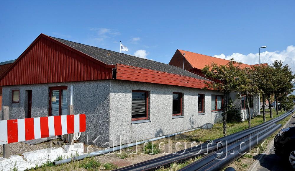 Kontorlokalerne på Kalundborg havn, der tidligere husede Kalundborgegnens Erhvervsråd, skal nu ombygges til restaurant. Foto: Jens Nielsen