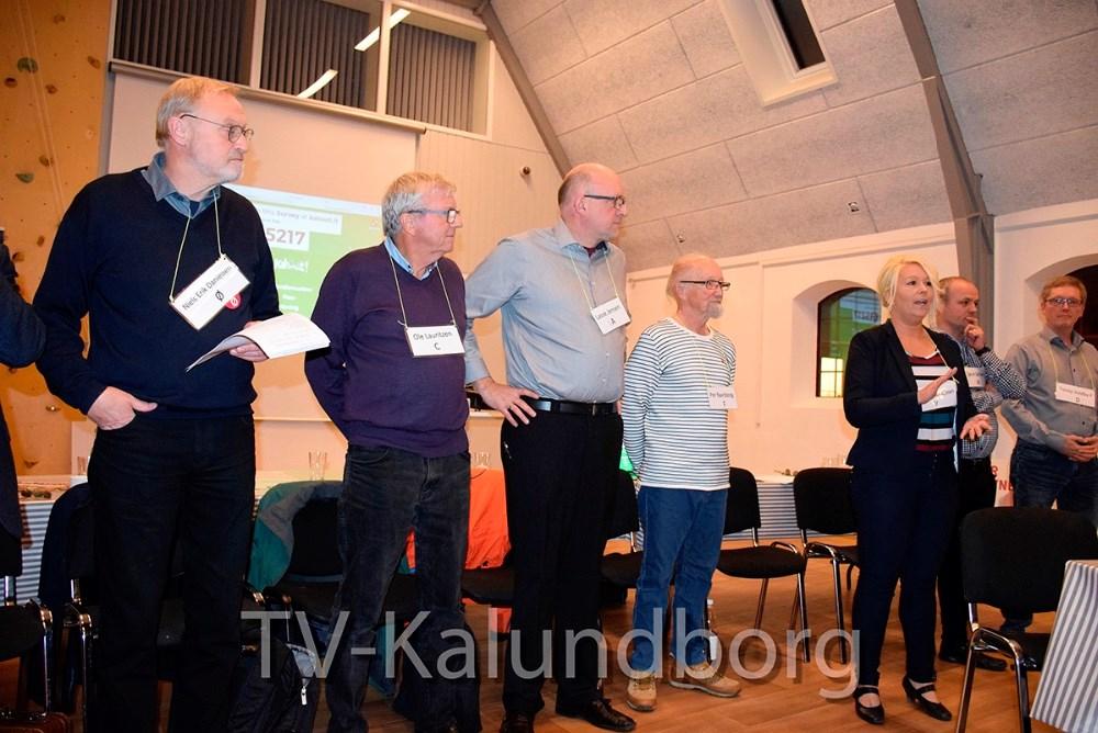 I går aftes var der debatmøde på Dyrehøj Vingaard i forbindelse med det kommende kommunevalg. Foto: Gitte Korsgaard.