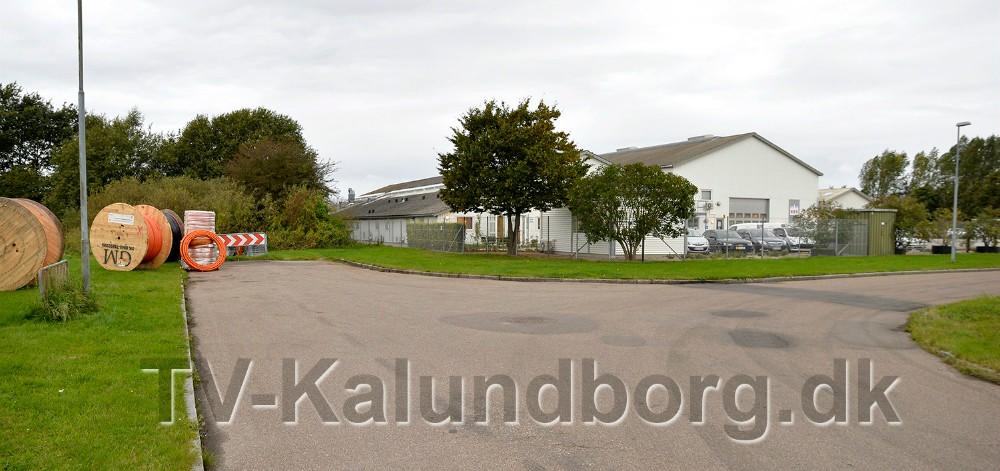 Her på Langagervej starter den nye vej til Asnæsvej. Foto: Jens Nielsen