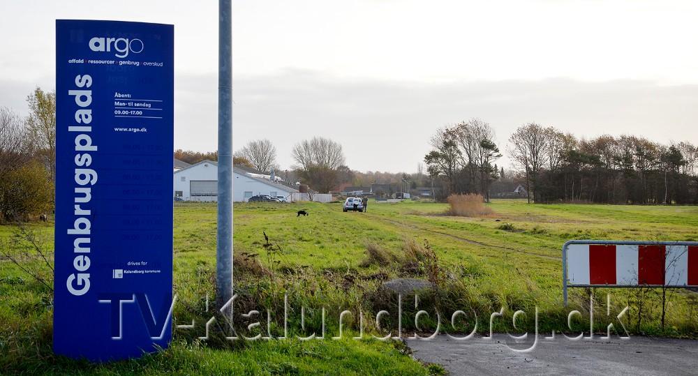 Den nye vej går fra genbrugspladsen på Asnæsvej og til Langagervej. Foto: Jens Nielsen