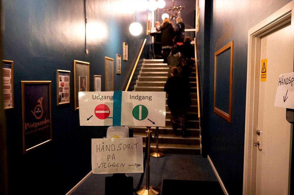 Postgaarden har corona-sikret sig efter alle kunstens regler. Foto: Jens Nielsen