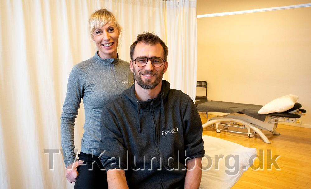 Maja og Thomas Helbo Jensen. Foto: Jens Nielsen
