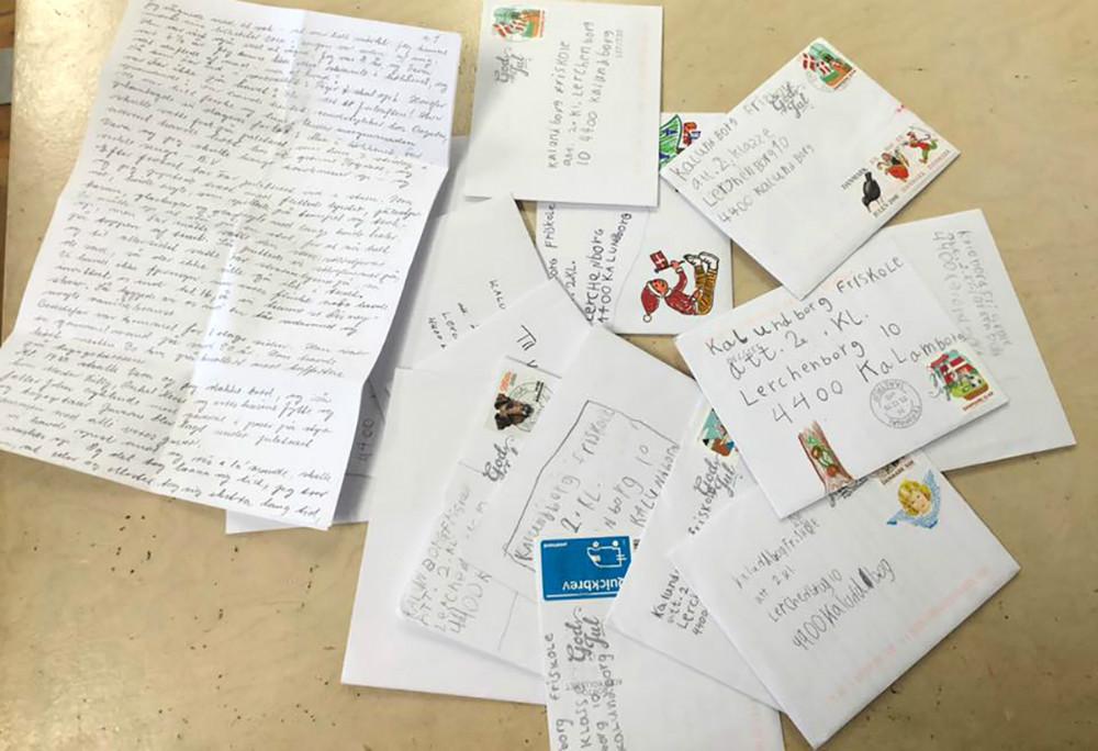 Breve fra bedsteforældre, der fortæller om deres jul, da de var børn.