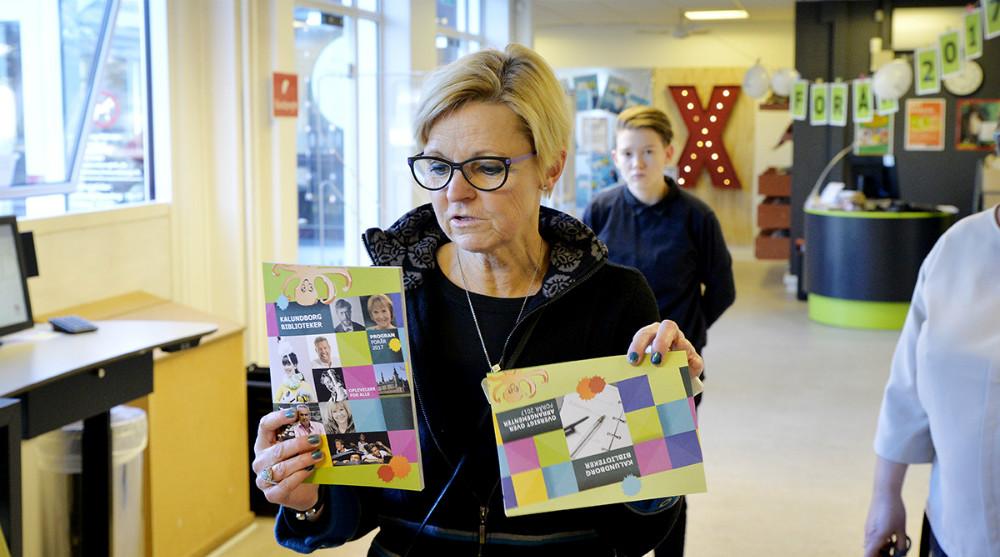 Jette Mygind, biblioteksleder på Kalundborg Biblioteker.