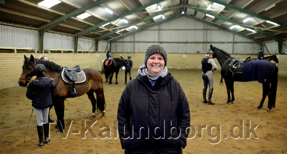 Lone Ammundsen er formand for den nye klub, Humlebækgård Youngster Ponyklub. Foto: Jens Nielsen