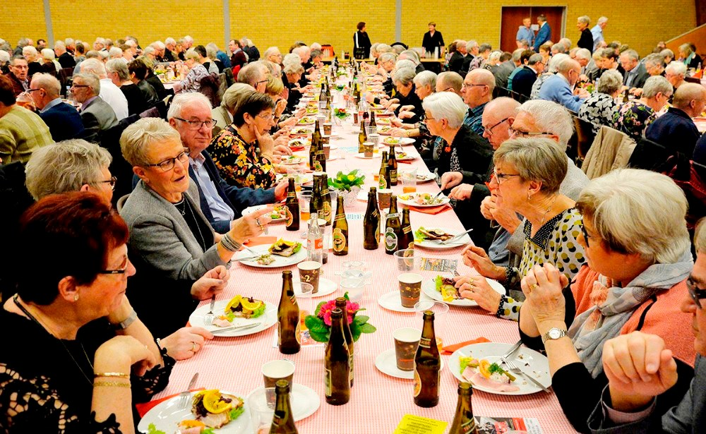 10-års jubilæumsfesten skal afholdes i Hvidebækhallen, hvor også dette års Ældrefest blev afholdt. Foto: Jens Nielsen