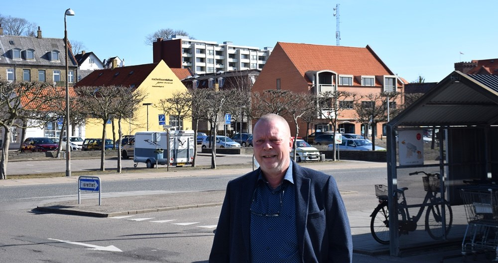 Ny citychef i Vores Kalundborg, Svend-Erik Kristensen. Foto: Gitte Korsgaard.