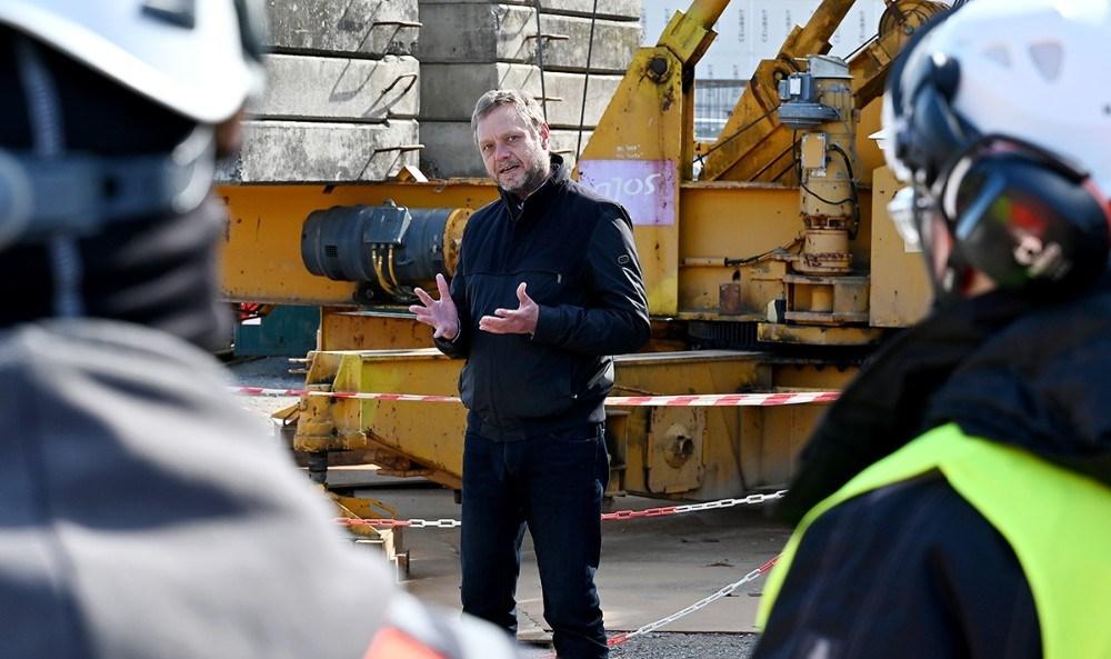 Peter Olsson, direktør for AP Ejendomme. Foto: Jens Nielsen