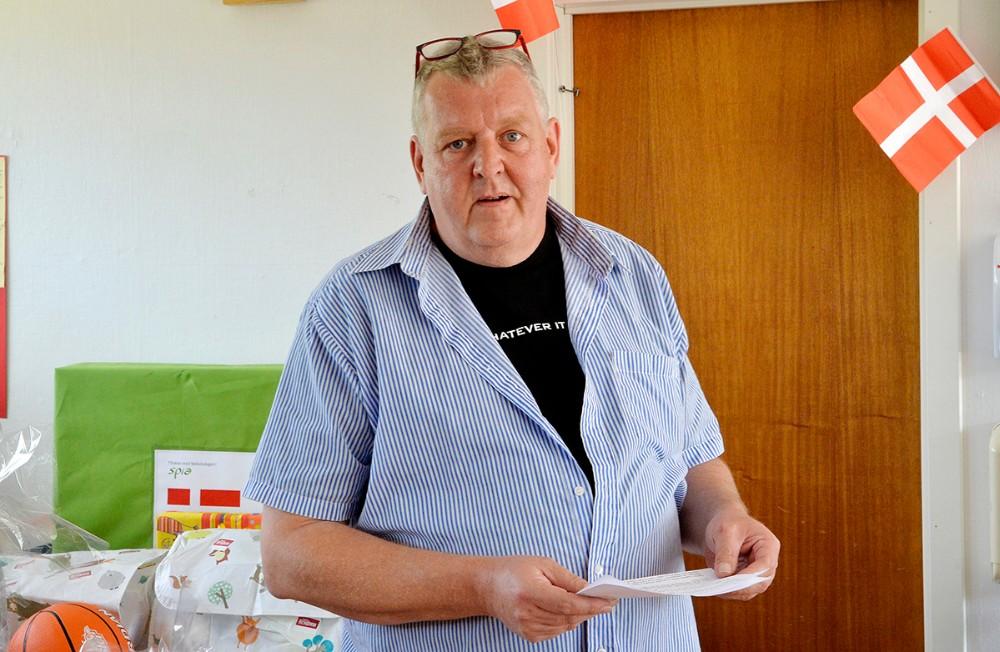 Bestyrelsesformand Niels Erik Jørgensen. Foto: Jens Nielsen