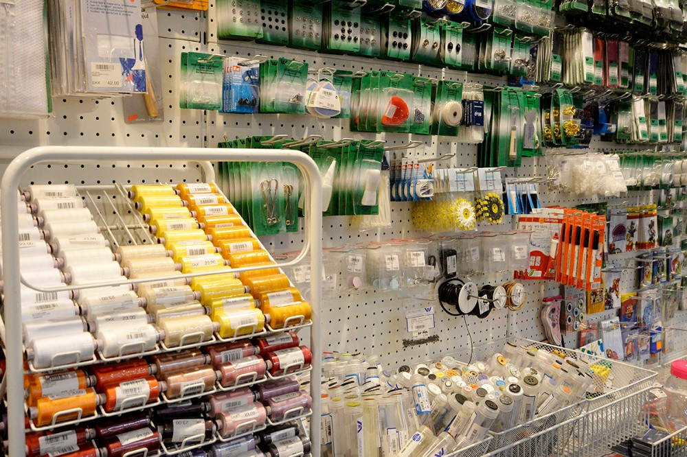 Alt i sy artikller findes også i Mega. Foto: Jens Nielsen