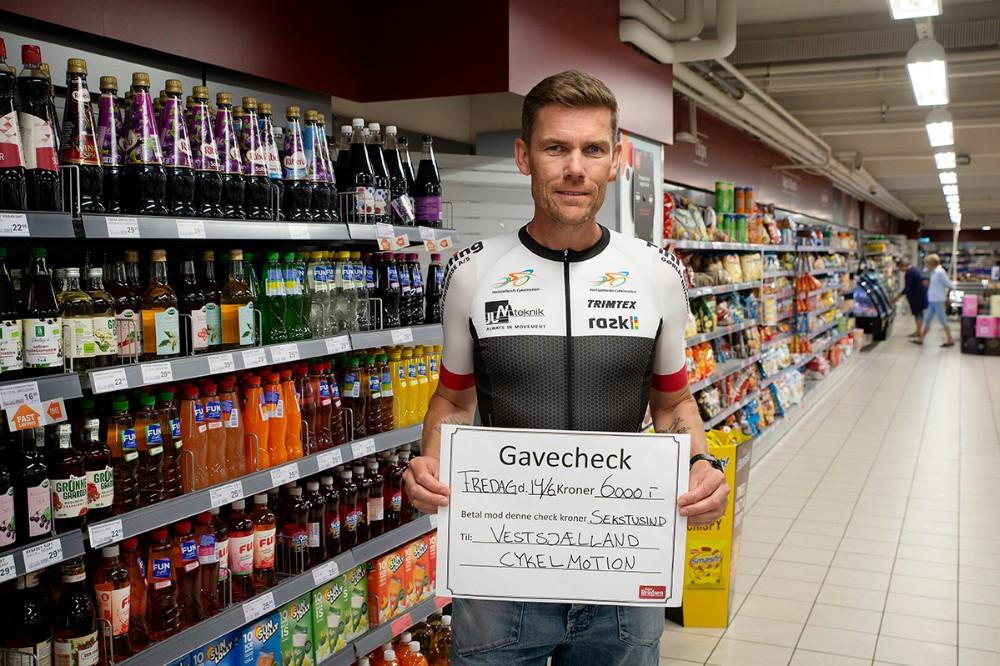 Henrik Pedersen, formand for Vestsjællands Cykelmotion. Foto: Jens Nielsen