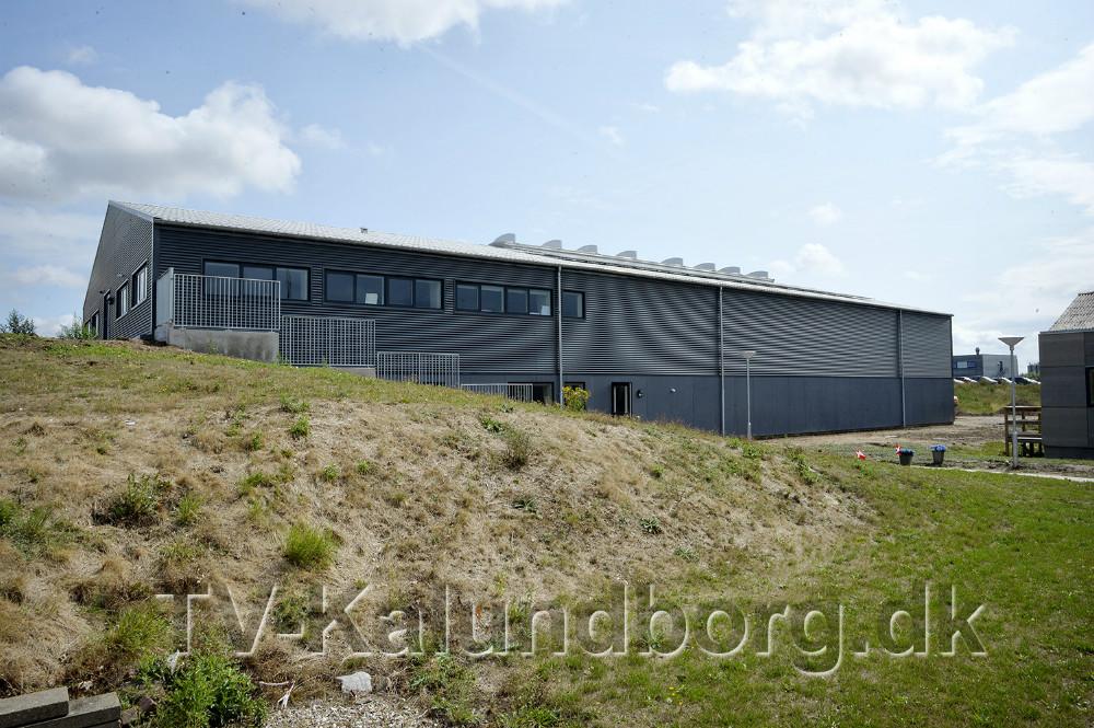 Den nye 800 kvadratmeter store proceshal blev indviet onsdag. Foto: Jens Nielsen