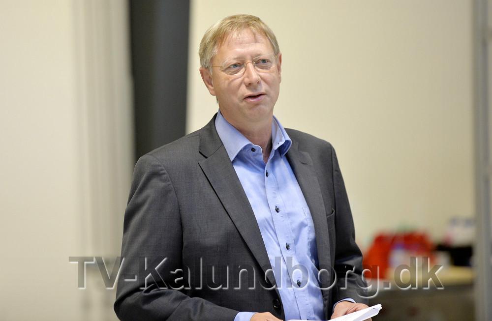 Steffen Lund, direktør på EUC Nordvestsjælland. Foto: Jens Nielsen