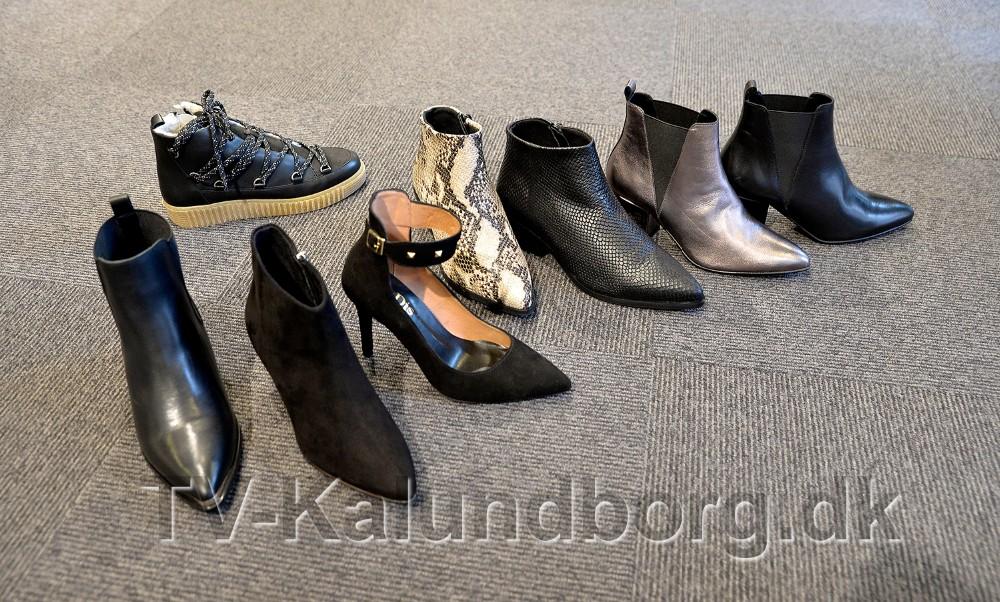 Kollektionen består af ni forskellige modeller, som alle er produceret i Portugal i det lækreste skind. Foto: Jens Nielsen
