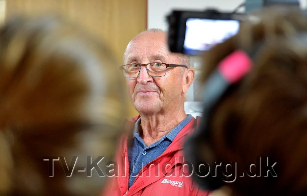 Det var Villy Christensen som fandt de mange penge i en gammel Nilfisk støvsuger. Foto: Jens Nielsen