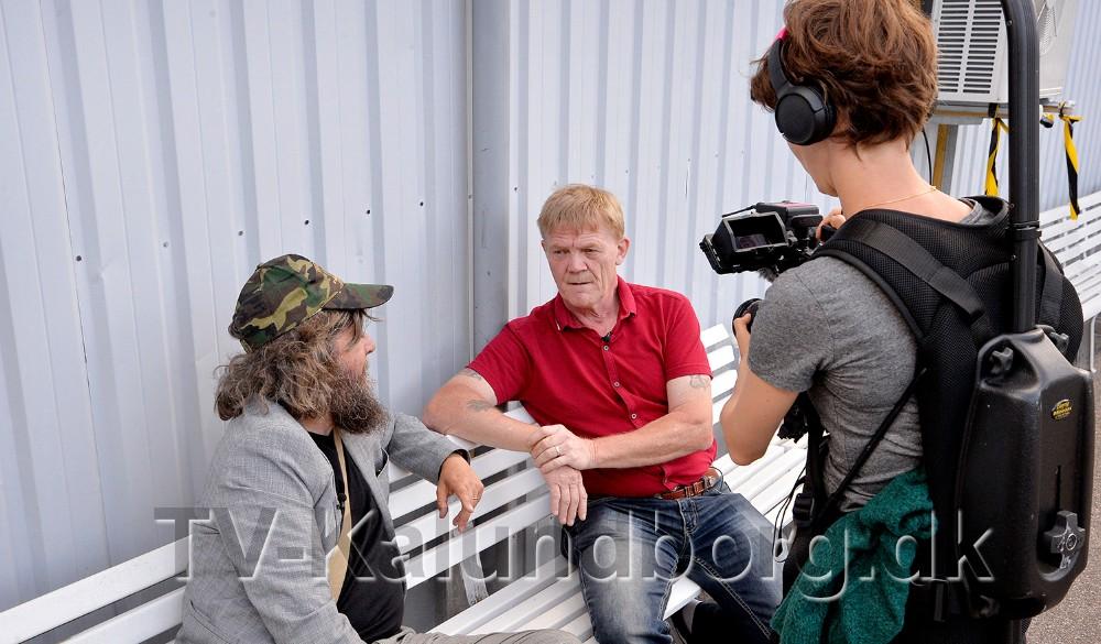 Kim Flemming Kjær sammen med Anders Lund Madsen. Foto: Jens Nielsen